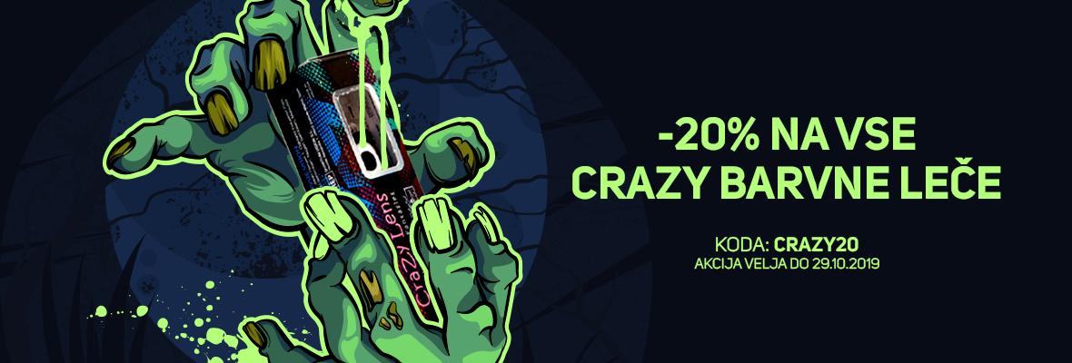 -20% na Crazy leče