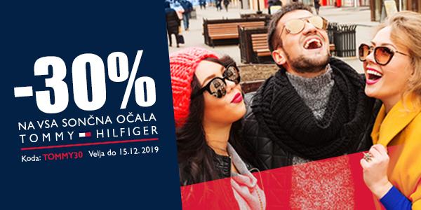 -30% na sončna očala Tommy Hilfiger