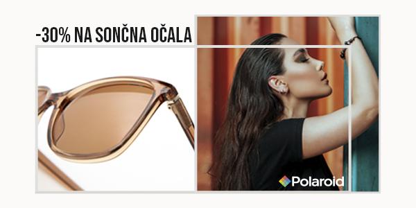 30% popust na sončna očala Polaroid