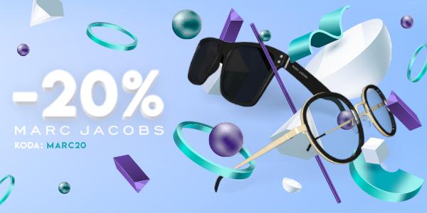 20% popust na očala Marc Jacobs