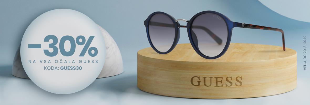 30% popust na VSA Guess očala