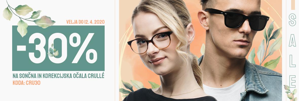 30% popust na VSA Crulle očala