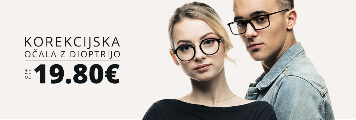 Crulle sončna in korekcijska očala