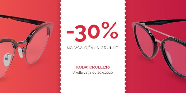 -30% na VSA očala Crulle