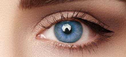 Barvne kontaktne leče brez dioptrije