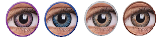 obojene kontaktne leće