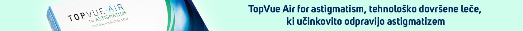 TopVue Air za astigmatizem