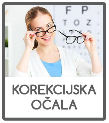 Korekcijska očala različnih proizvajalcev v Optiki Vallis