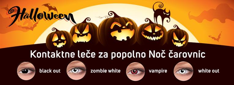 Halloween kontaktne leče