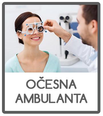 Očesna ambulanta v optiki vallis.