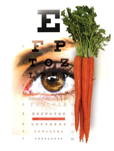 Korenje za boljši vid