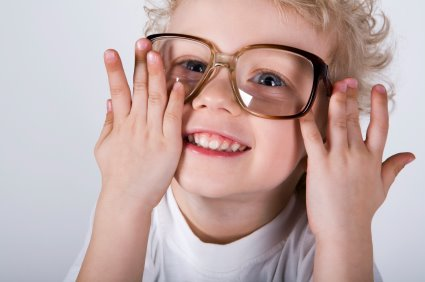 otroci in kontaktne leče