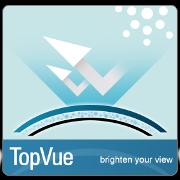TopVue tehnologija kontaktnih leč aquamax