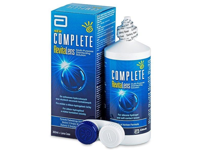 Tekočina Complete RevitaLens 360ml  - Tekočina za čiščenje