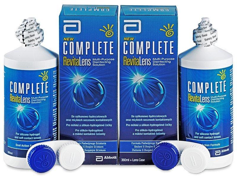 Ekonomično dvojno pakiranje tekočine - Tekočina Complete RevitaLens 2x360ml