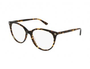 Okvirji za očala - Oval / Elipse - Gucci GG0093O-002