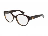 Okrogla okvirji za očala - Gucci GG0099O-002
