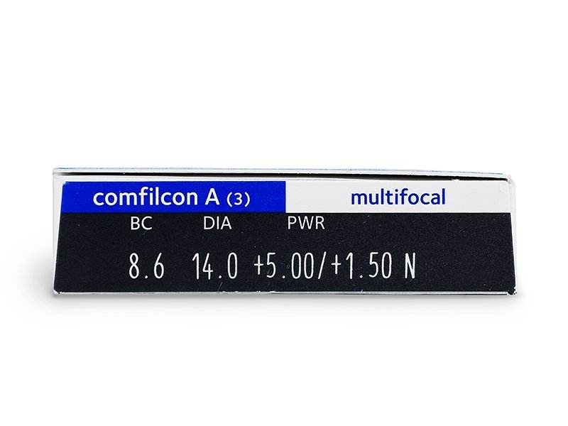 Biofinity Multifocal (3leče) - Predogled lastnosti