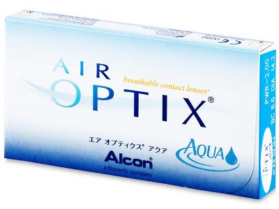 Air Optix Aqua (3leče) - Starejši dizajn