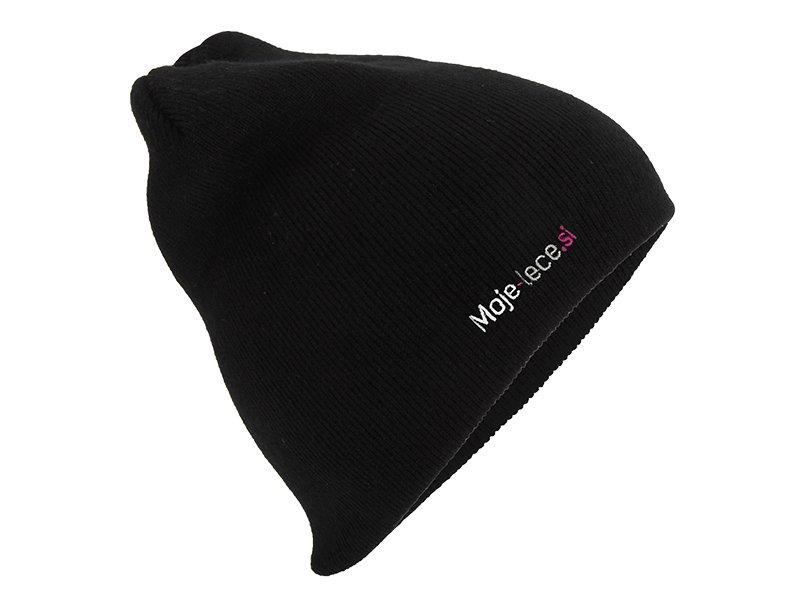 Kapa Moje-lece.si - črna  - Črna kapa
