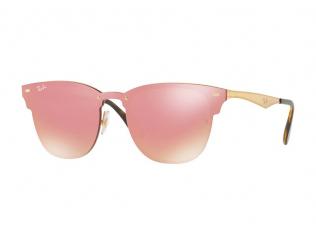 Browline sončna očala - Ray-Ban BLAZE Clubmaster RB3576N 043/E4