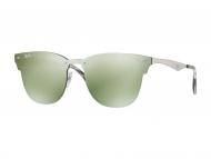 Browline sončna očala - Ray-Ban BLAZE CLUBMASTER RB3576N 042/30