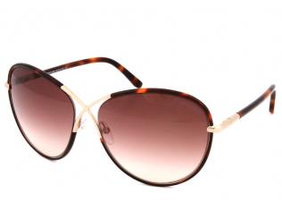 Oversize sončna očala - Tom Ford ROSIE FT0344 56F