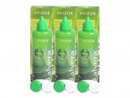 Paketi tekočin za kontaktne leče - Tekočina Alvera 3 x 350 ml
