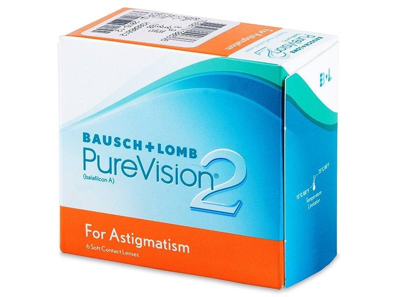 Torične kontaktne leče - PureVision 2 for Astigmatism (6leč)