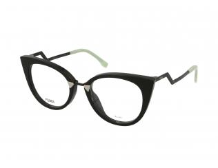 Cat Eye okvirji za očala - Fendi FF 0119 AQM
