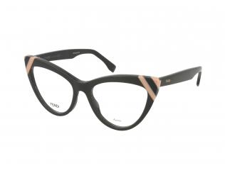 Cat Eye okvirji za očala - Fendi FF 0245 KB7