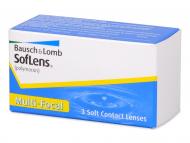 Progresivne kontaktne leče - SofLens Multi-Focal (3 leče)