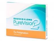 Torične kontaktne leče - PureVision 2 for Astigmatism (3leče)