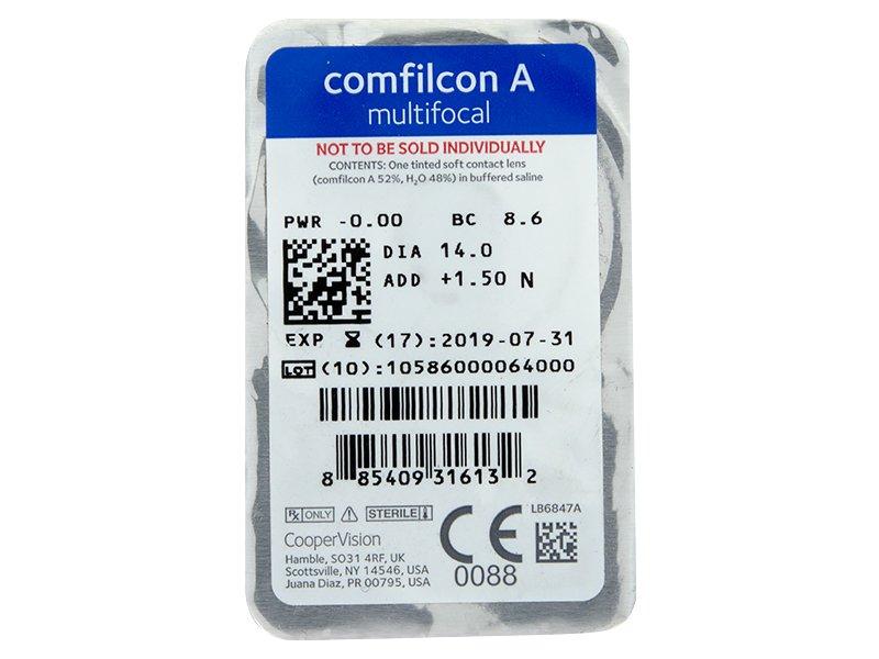 Biofinity Multifocal (6leč) - Predogled blister embalaže
