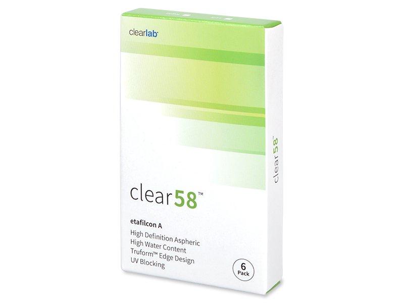 14 dnevne kontaktne leče - Clear 58 (6leč)