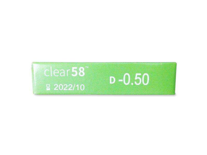 Predogled lastnosti - Clear 58 (6leč)