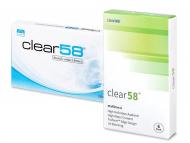 Kontaktne leče za Vaše oči - Clear 58 (6leč)
