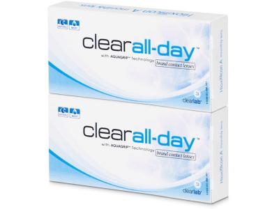 Mesečne kontaktne leče - Clear All-Day (6leč)