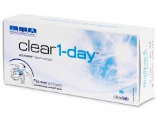 Clear 1-Day (30leč) - Dnevne kontaktne leče