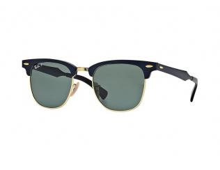Browline sončna očala - Ray-Ban CLUBMASTER ALUMINUM RB3507 136/N5