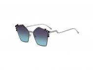 Oversize sončna očala - Fendi FF 0261/S 6LB