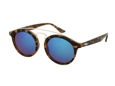 Otroška sončna očala Alensa Panto Havana Blue Mirror