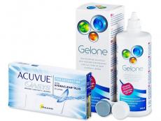 Acuvue Oasys for Astigmatism (6 leč) + tekočina Gelone 360 ml