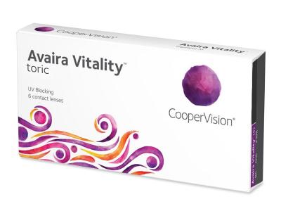 Torične kontaktne leče - Avaira Vitality Toric (6 leč)