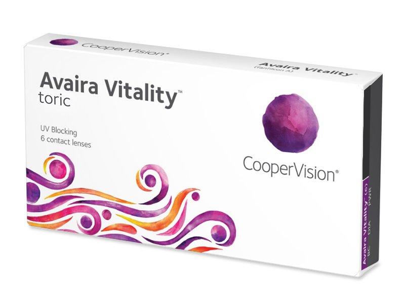 Avaira Vitality Toric (6 leč) - Torične kontaktne leče