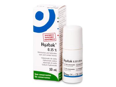 Kapljice za oči - Kapljice za oči Hyabak 10 ml