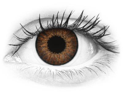 Air Optix Colors - Brown - z dioptrijo (2 leči)