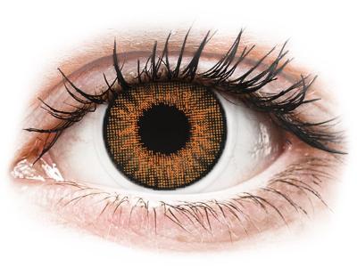 Air Optix Colors - Honey - z dioptrijo (2 leči)