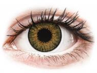 Barvne kontaktne leče brez dioptrije - Air Optix Colors - Pure Hazel - brez dioptrije (2 leči)