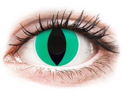 ColourVUE Crazy Lens - Anaconda - brez dioptrije (2 leči)